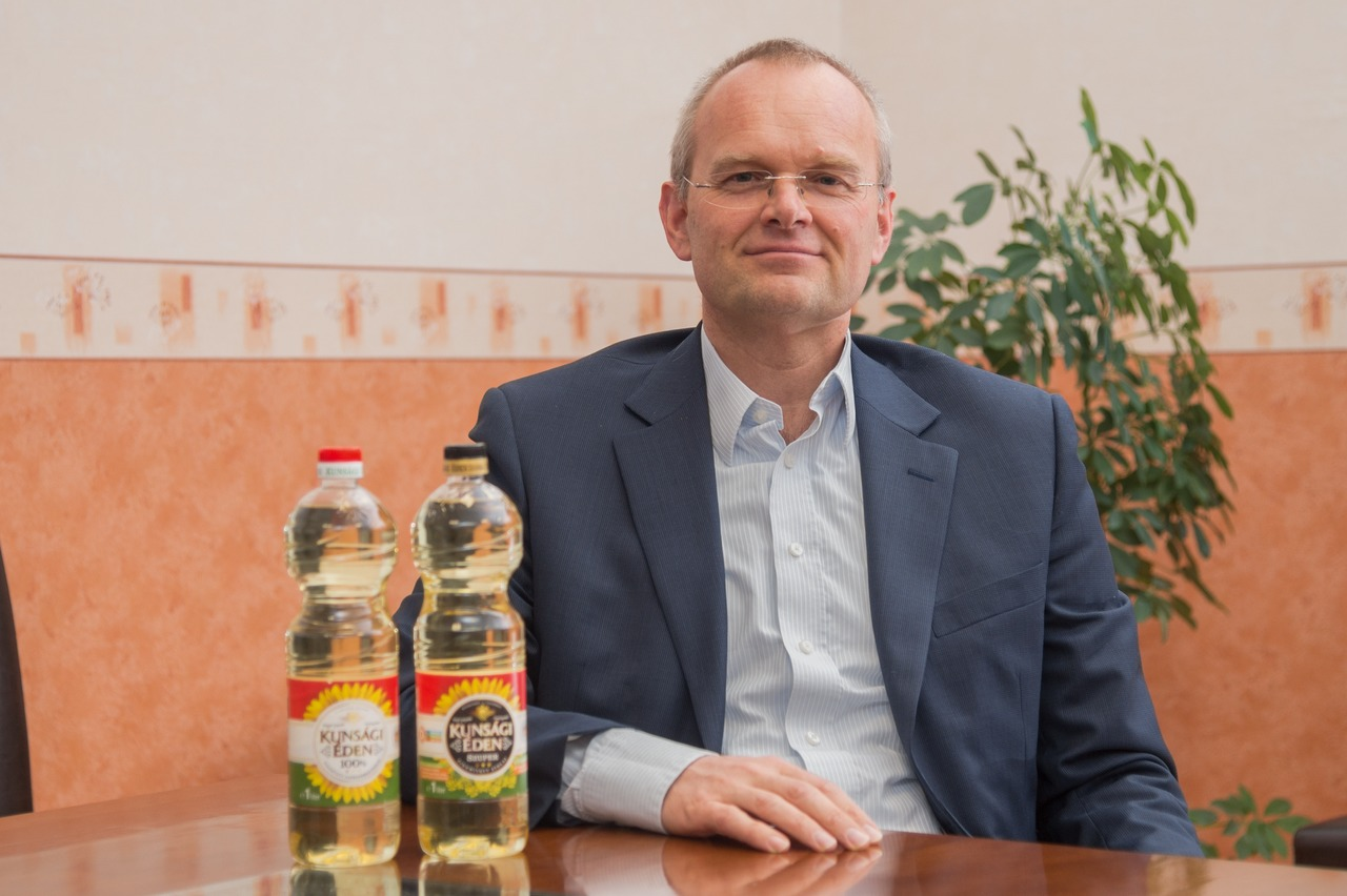 """The new line from Krones has enabled us to double our bottling capacities at a stroke,"" says Milan Kunciř, Managing Director of the Hungarian company NT GmbH."