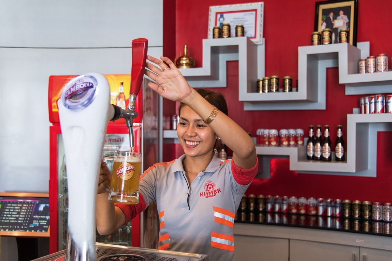 Cambodia has developed from zero to become one of Cambodia's strongest beer brands – and all this in just seven years.