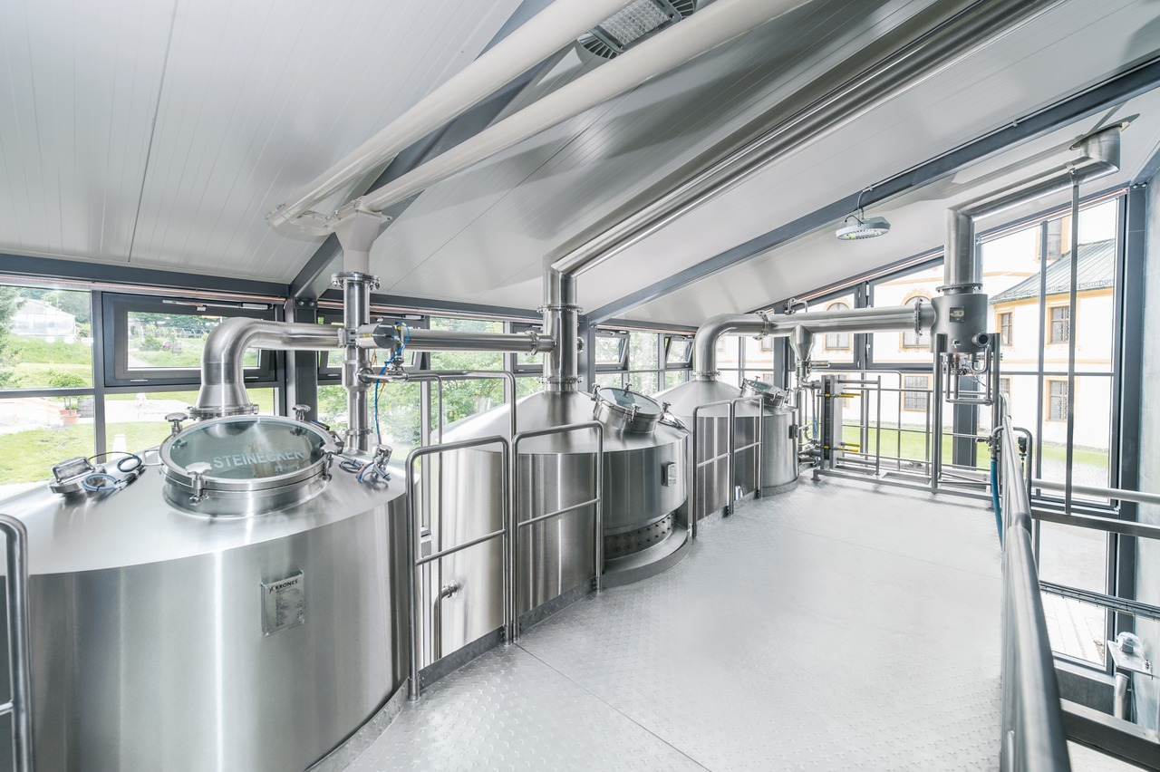 To suit their output, the monastic brewery installed one of the first CombiCube units, a small-scale brewhouse from Krones with a brew size of 25 hectolitres.
