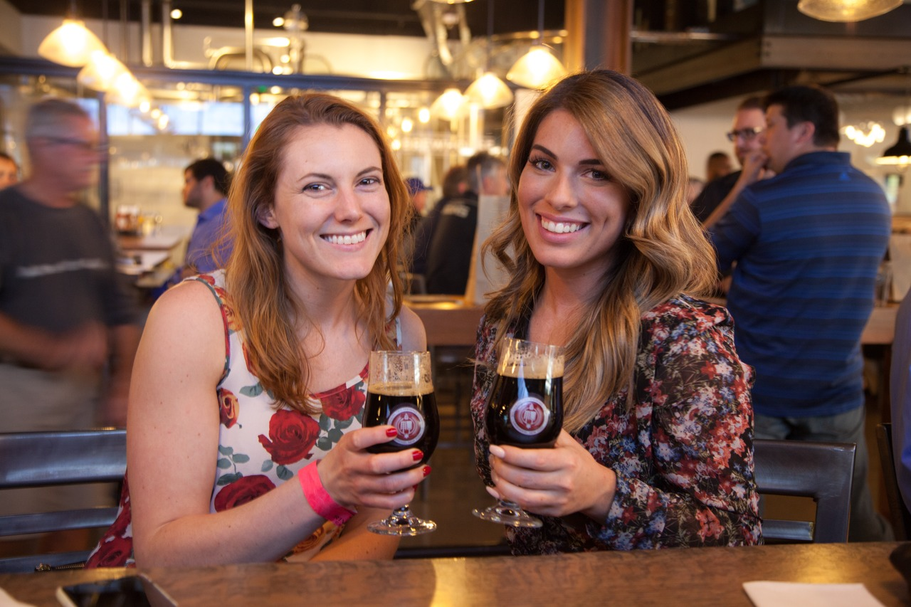 The brewpub attracts sport fans, families and craft beer aficionados alike.