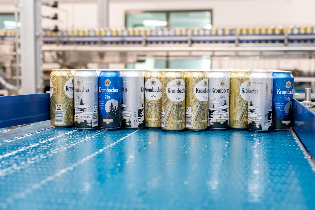 The declared goal was to install a line able to handle any conceivable can. This is why the line has been designed to fill and pack in future not only the 0.33-litre and 0.5-litre aluminium and tinplate cans in standard format but also slim-cans and sleek-cans in different sizes (0.15-, 0.2-, 0.25- and 0.33-litre).