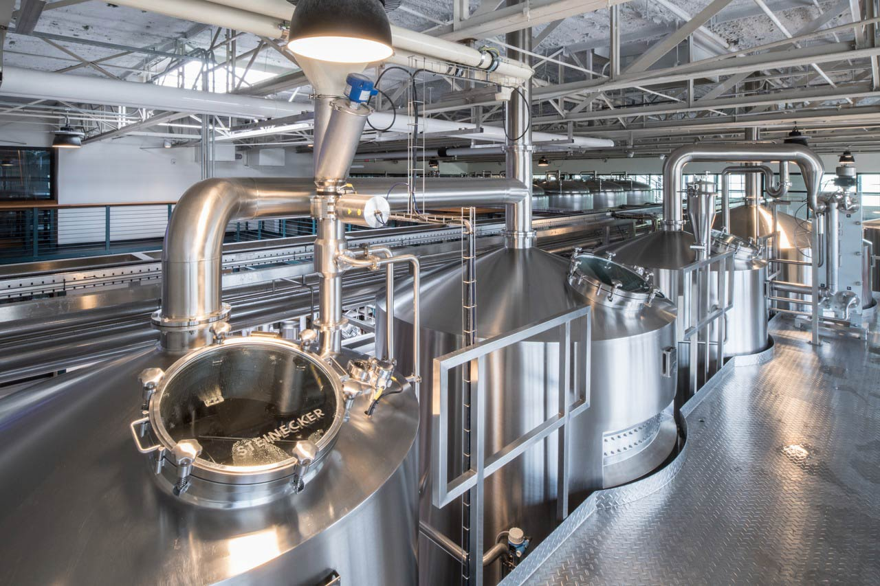 When Carey Falcone asked his partner Mitch Steele for his input on what brewhouse to select, he answered without any hesitation: 'a Steinecker brewhouse'.