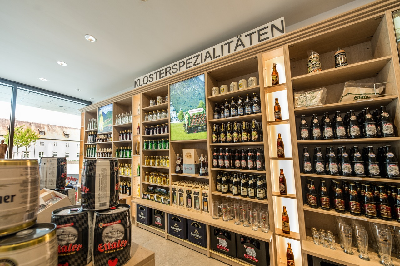 Besides the brewery the abbey also operates monastery shops, in which the beers are on sale, of course.