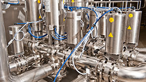 The first brewery to install EVOGUARD valve technology