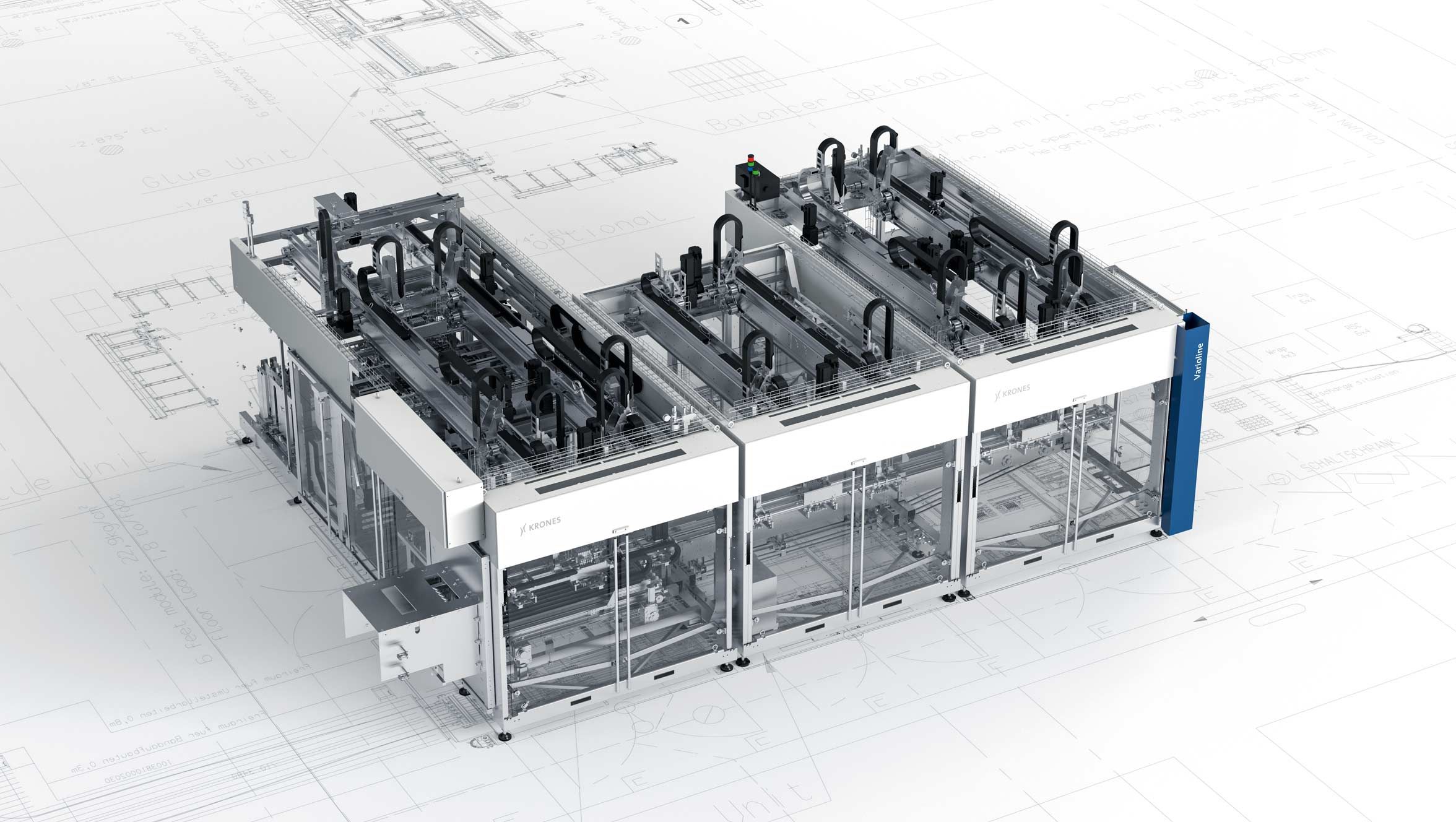 Varioline packaging line