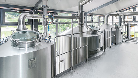 CombiCube compact brewhouse