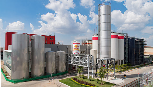 Mega-project at Khmer Beverages