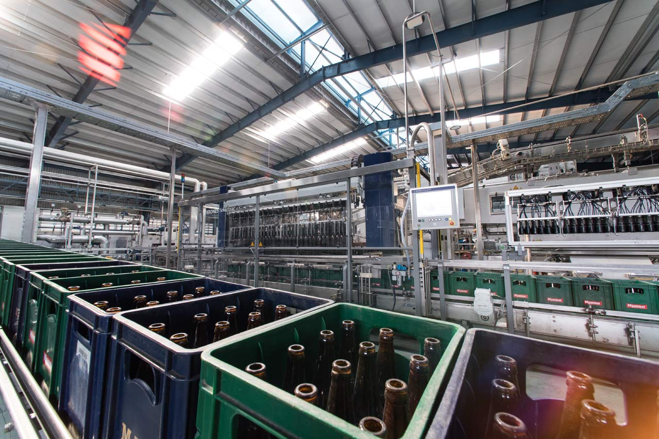 In 2016, the brewery significantly upsized its filling capacities: not least with a 36,000-bph returnable-glass line from Krones.