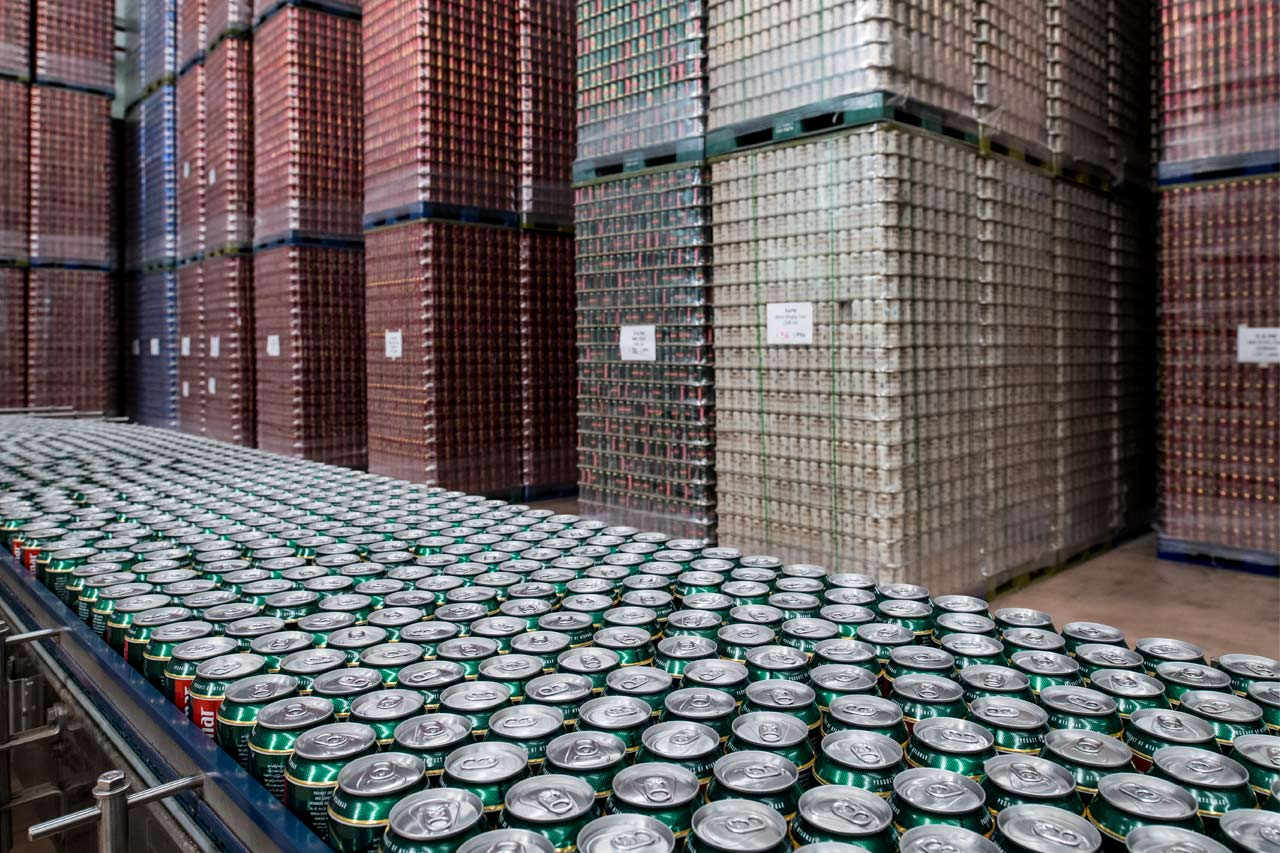 Since 2017, the can has all of a sudden become the most popular container, accounting for 38 per cent.