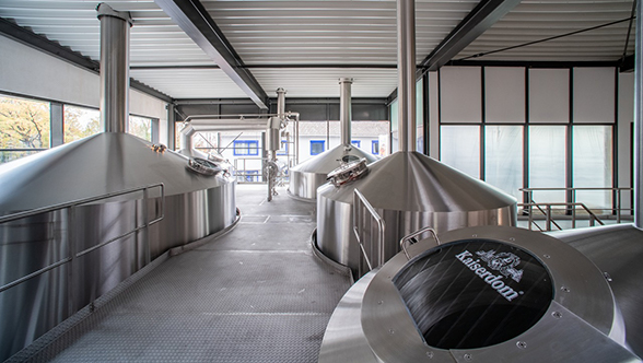 New Steinecker brewhouse for the Kaiserdom brewery