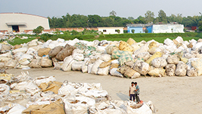 Bangladesh recycles