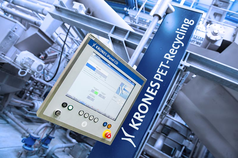 MEG plant neues PET-Recyclingwerk - Krones