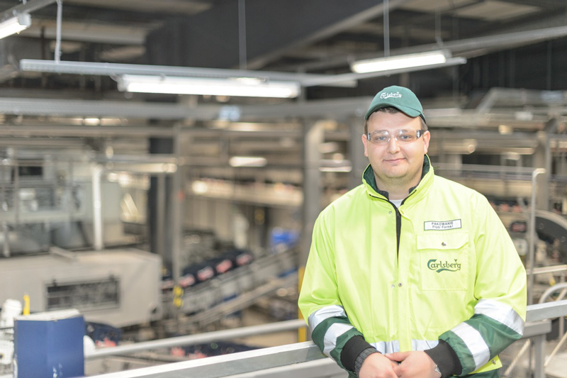 """The major challenge we faced in relocating the line was the time factor. We wanted to be operating well in time for the peak season in 2015 – and we succeeded,"" says Piotr Fornal, Project Manager for the line relocation job, and Bottling Manager."