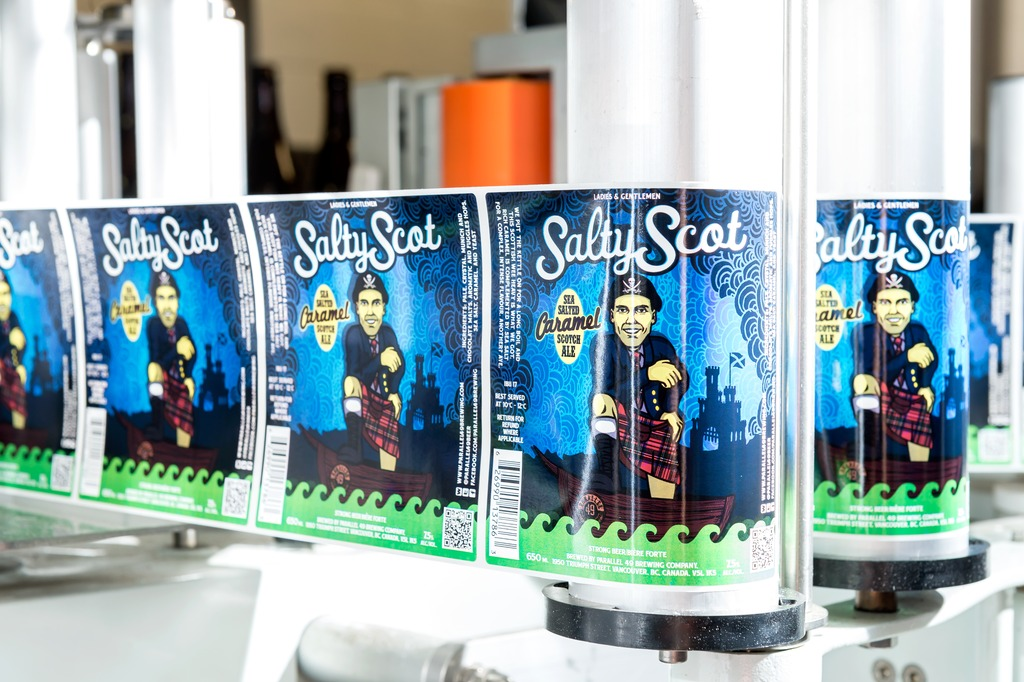 Salty Scot is brewed with whiskey malt and sea salt.