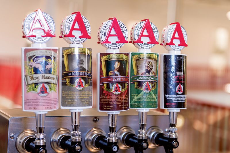 Avery Brewing found its niche in the booming craft beer market at an early stage, with heavily hopped beers, with taste-explosive, high-abv specialities and with barrique beers.