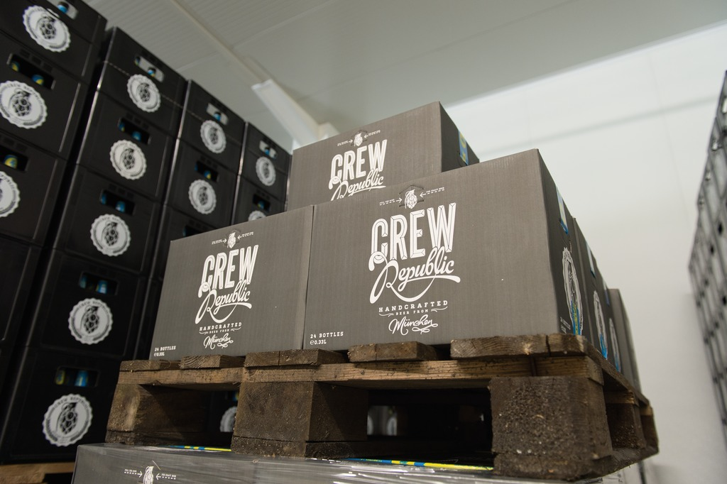 CREW Republic sells its beers directly, through beverage wholesalers, and over the internet, dispatched in practical cartons.