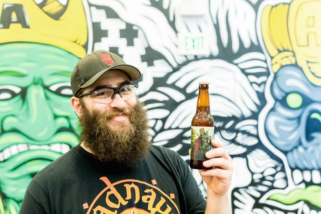 """Here at Three Floyds, free-thinking is the watchword. Staff feel at their ease. Every single person employed here is a part of the brewing process. We operate like a big family."""