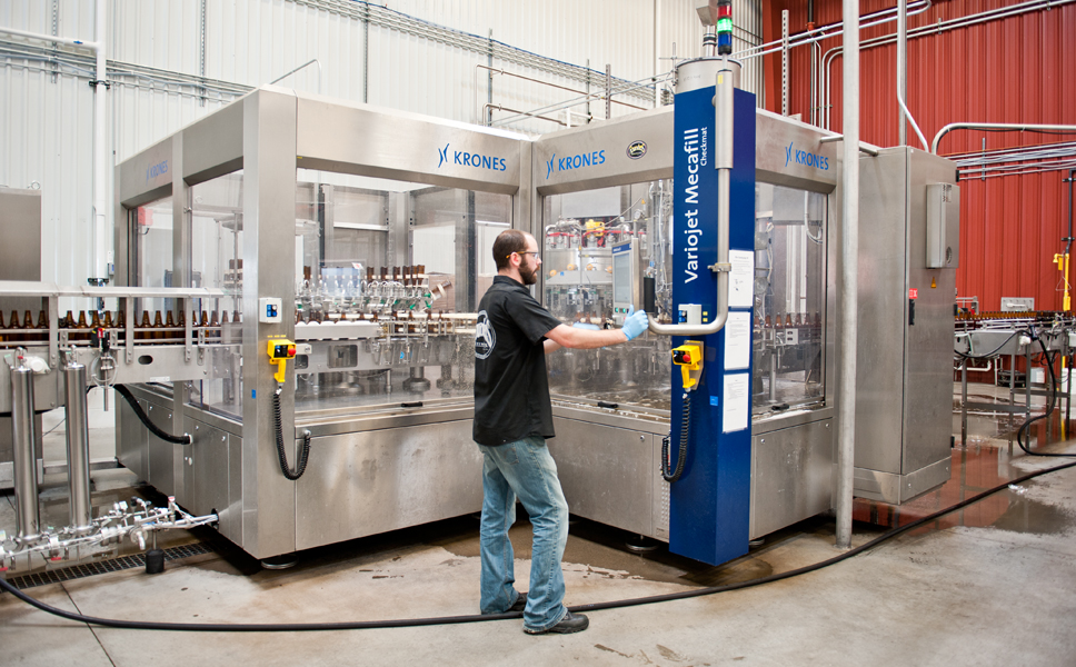 "Founders opted for a pneumatic Mecafill VKPV filler from Krones with 32 valves, a short-tube filler with double pre-evacuation. As Alec Mull says, ""This investment was the biggest quality enhancement for Founders."""