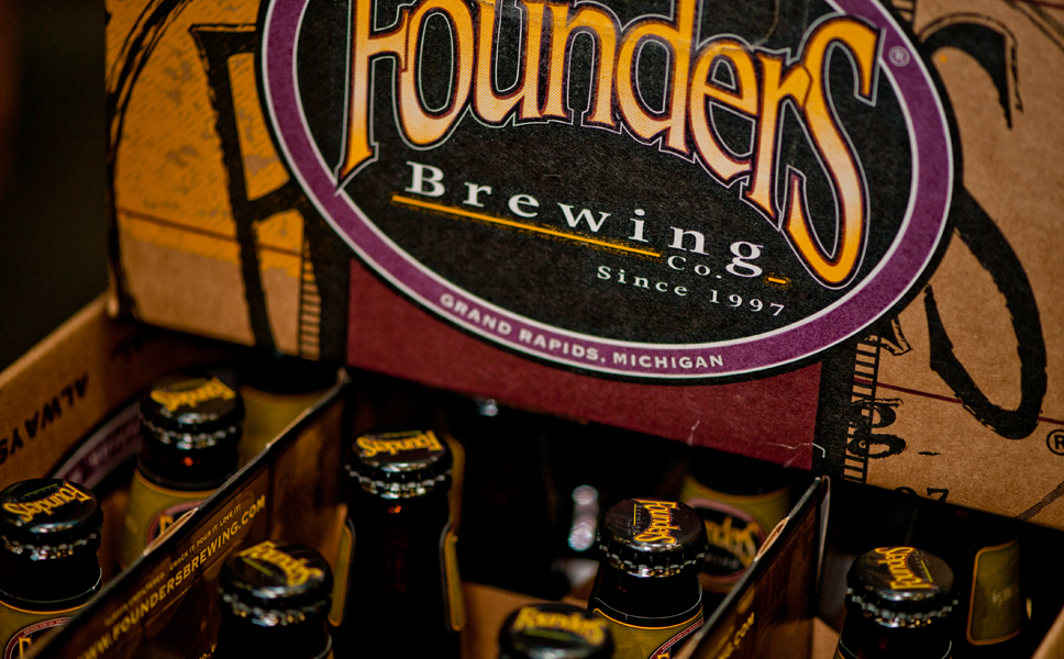 Founders also packs the bottles in 12- and 24-container cartons.