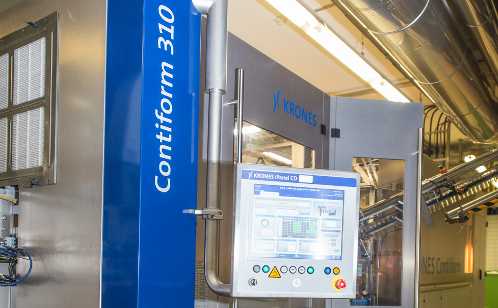 The new line features a Contiform from the latest model range C3 with optimised energy consumption, which produces up to 2,250 0.5-litre containers per cavity and hour.