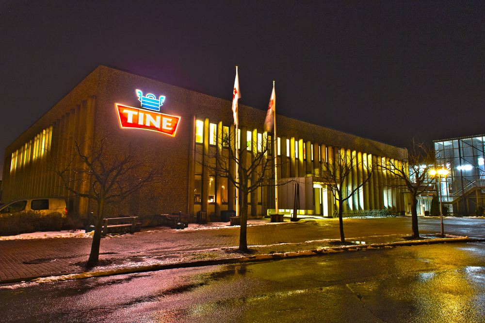 "The company's name has been taken from rural life: a ""tine"" is a Norwegian wooden vat used for keeping cheese and butter fresh."