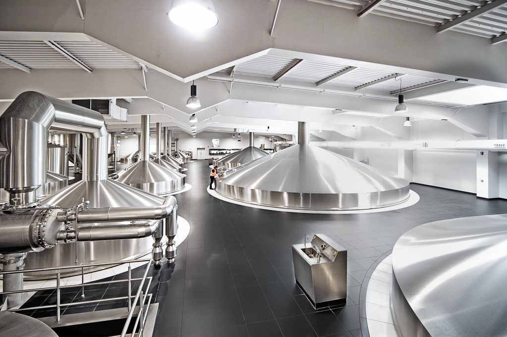 Diageo's new brewhouse is a record-breaker. Firstly, there's the sheer size of the vessels, with brews measuring up to 1,000 hectolitres.