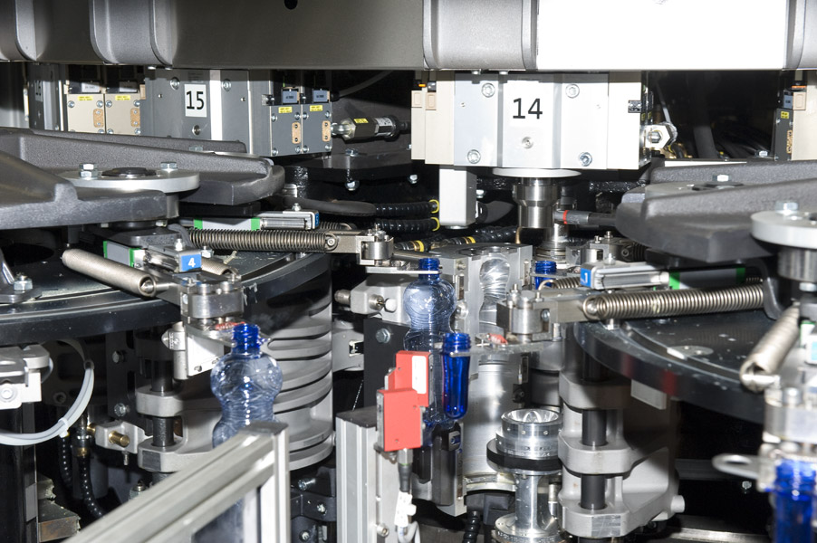 Blow module of the Krones Contiform S16