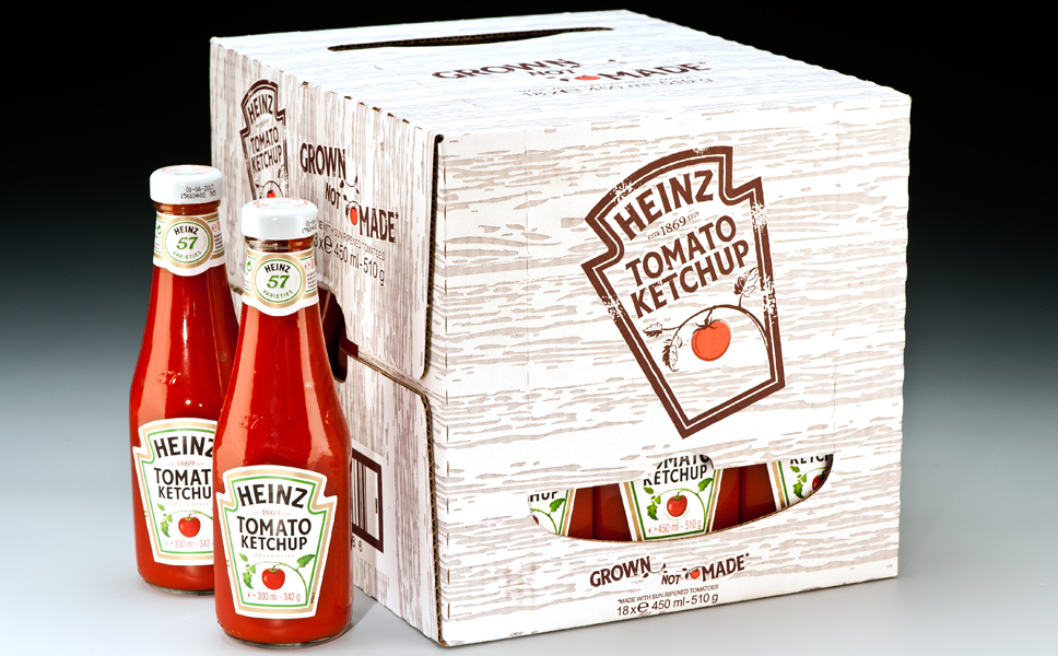 All filling of ketchup in glass containers for Europe are concentrated in Poland.