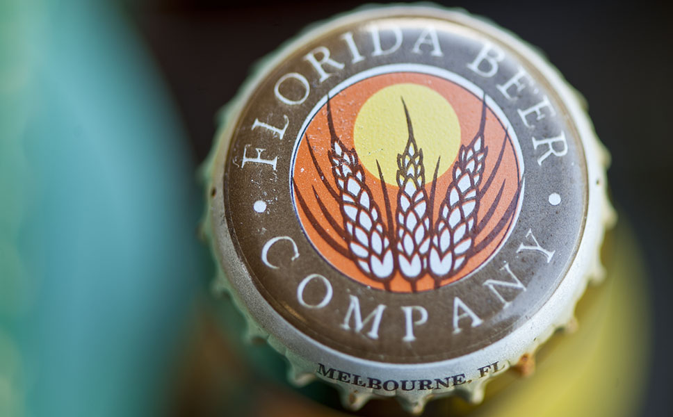 A name that effortlessly connotes sunshine: Florida Beer.
