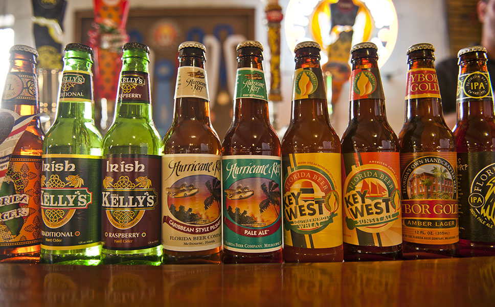 Today, the Florida Beer Company produces 18 different beers.