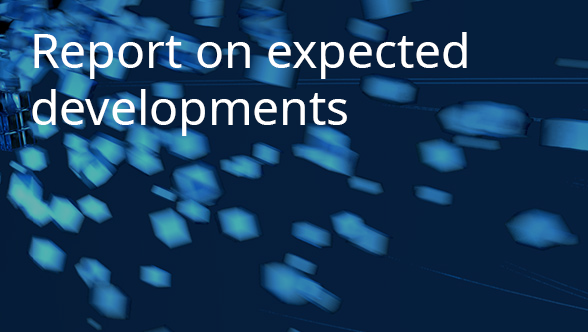 Report on expected developments